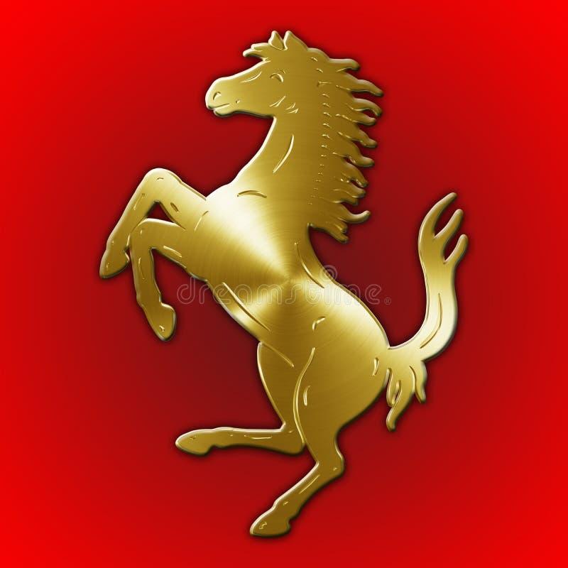 Maranello Modena Italy Year 2017 Horse Symbol Of Ferrari Cars