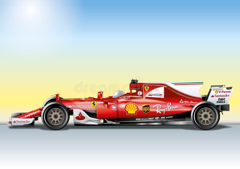 MARANELLO, MODENA, WŁOCHY, rok 2017 - Ferrari formuła 1 SF70H, Światowego formuła jeden Światowy mistrzostwo 2017