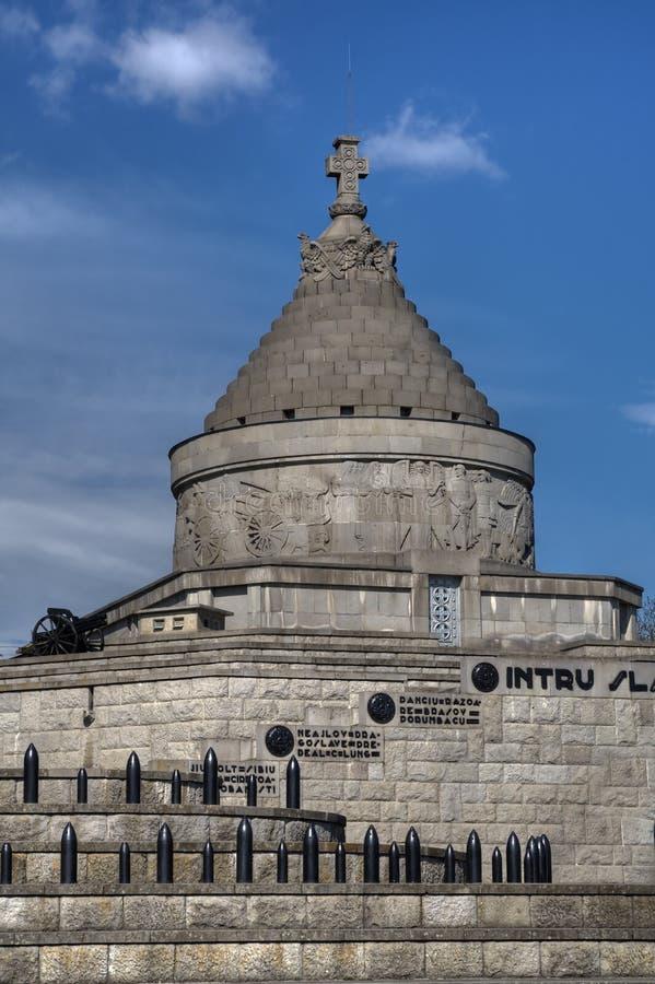 Marasesti Mausoleum stock photo