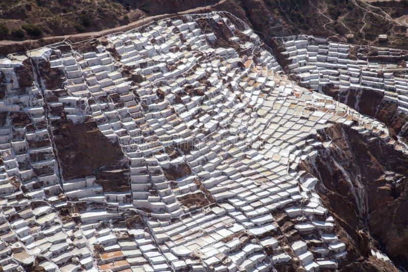 Maraszoutmijnen, Peru royalty-vrije stock fotografie