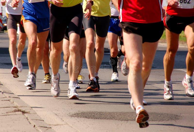Maratón foto de archivo libre de regalías