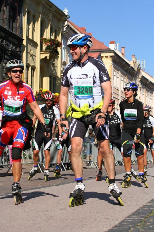 Maratón 2009 de la paz de Kosice imagen de archivo libre de regalías