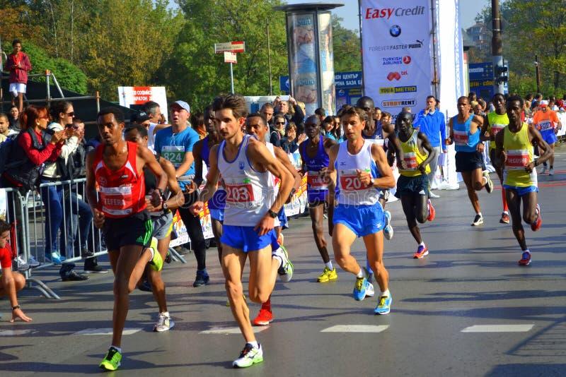 Maratón Bulgaria de Sofía foto de archivo