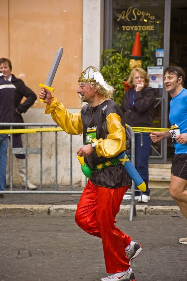 Maratón de Roma fotos de archivo libres de regalías