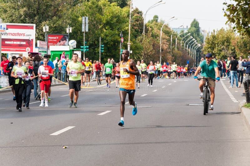 Maratón 2015 del International de Bucarest fotos de archivo
