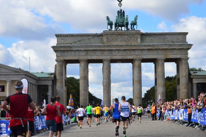 Maratón en Berlin September 28, 2015 foto de archivo