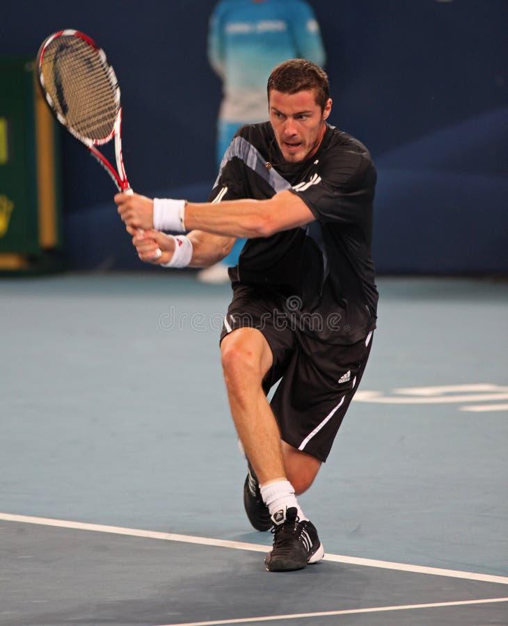 Marat Safin (RUS), tennis player royalty free stock photography