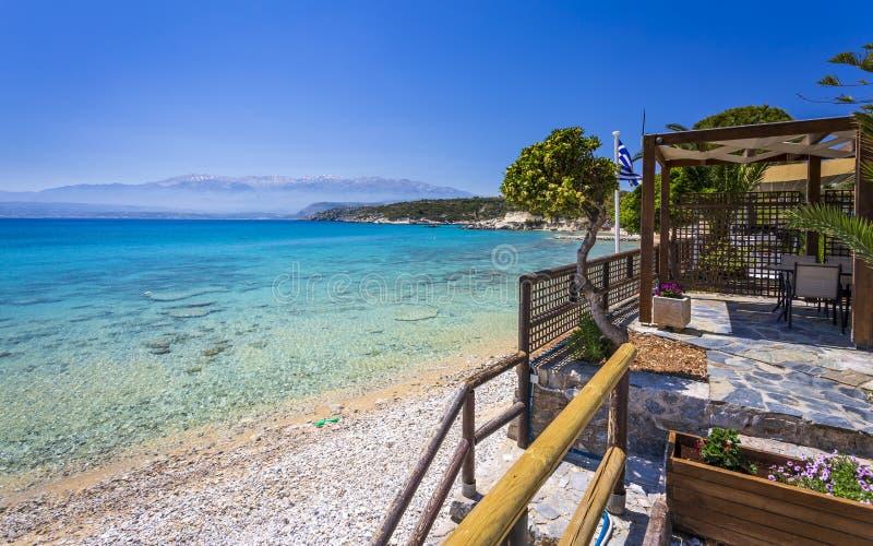 Marathi Beach, Creta imagen de archivo libre de regalías