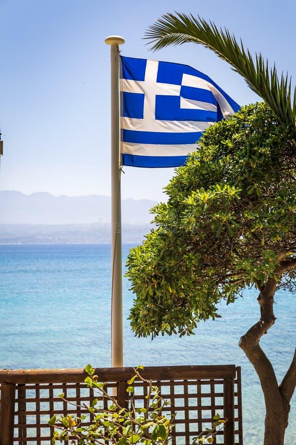 Marathi Beach, Creta fotografía de archivo