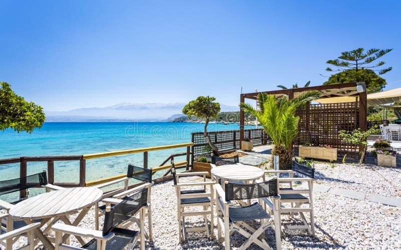 Marathi Beach, Creta foto de archivo