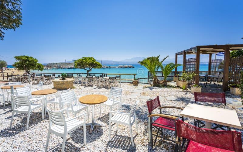 Marathi Beach, Creta, Islas Griegas, Grecia, Europa foto de archivo
