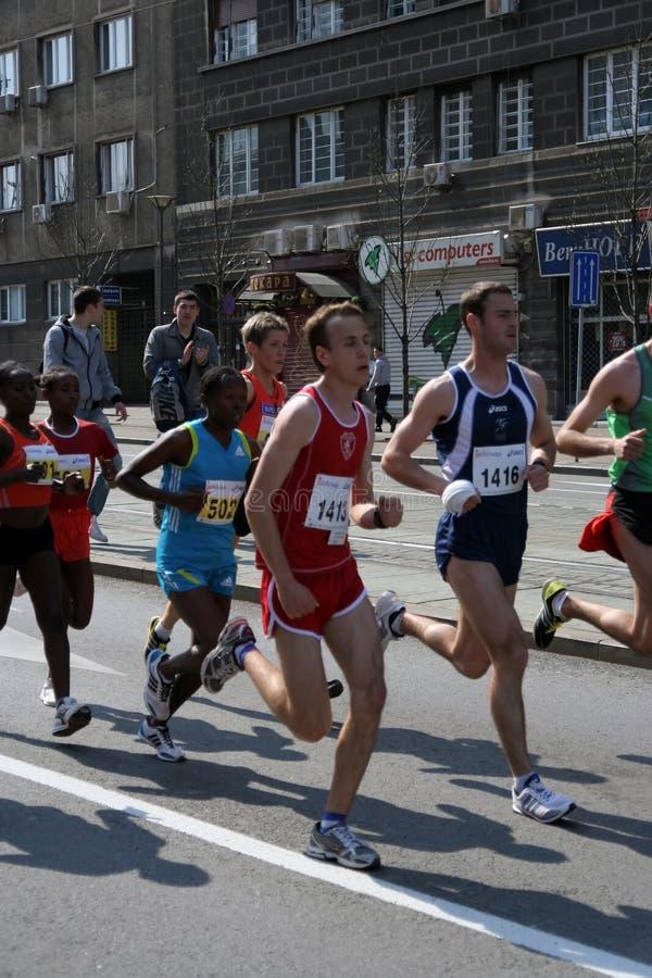 Marathon photo libre de droits