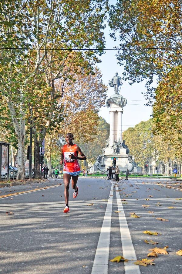 Marathon 2011 de Turin images libres de droits