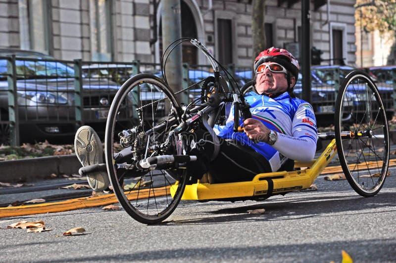 Marathon 2011 de Turin photographie stock libre de droits