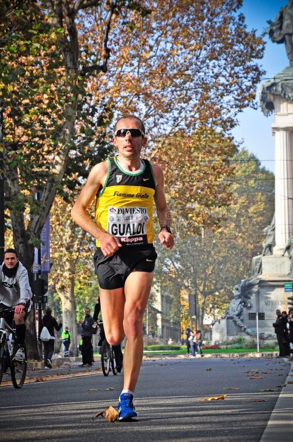 Marathon 2011 de Turin photographie stock