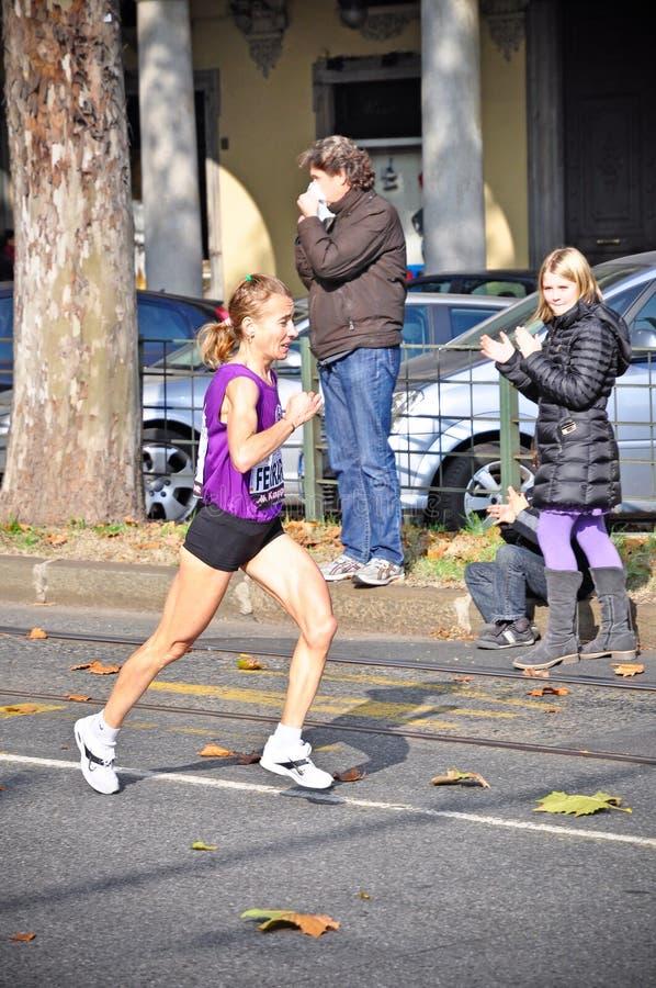 Marathon 2011 de Turin photo stock