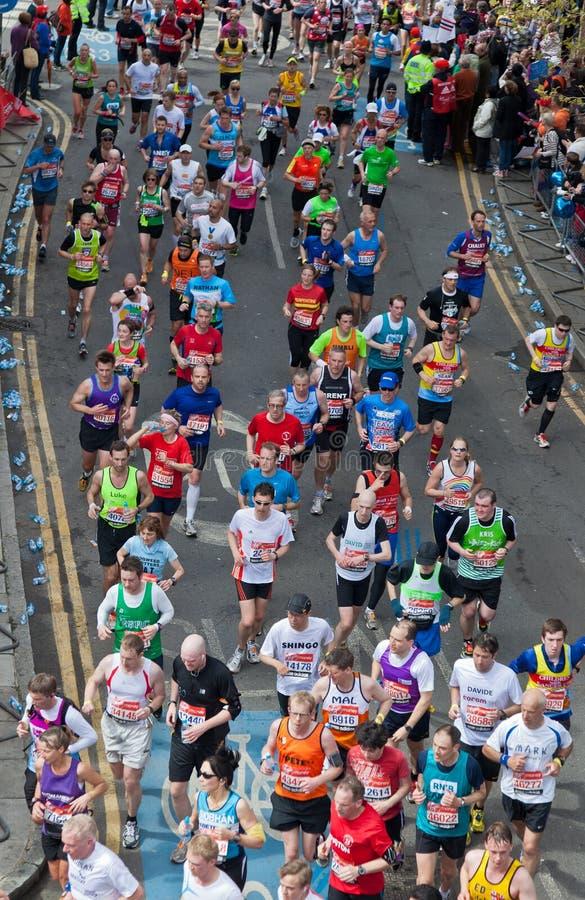 Marathon 2012 de Londres de Vierge