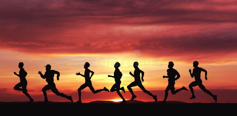 Marathon lizenzfreie stockbilder