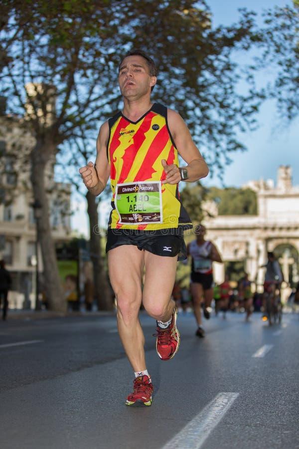 Marathon royalty-vrije stock afbeelding