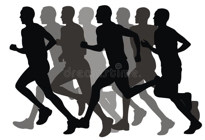 Download Marathon stock illustration. Image of running, event, dash - 8533387