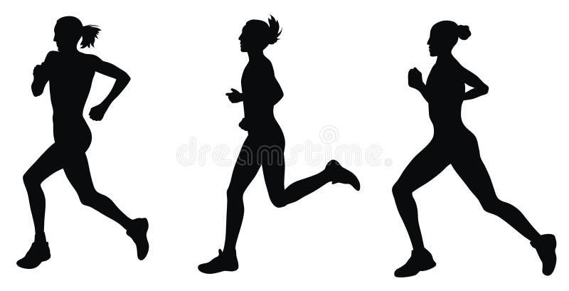 Marathon illustration stock