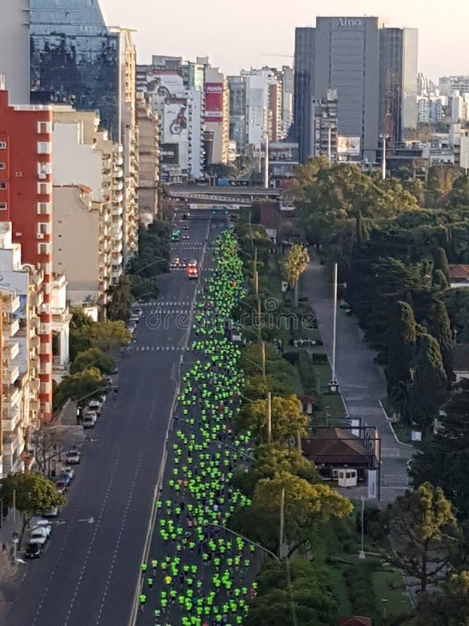 Marathon images libres de droits