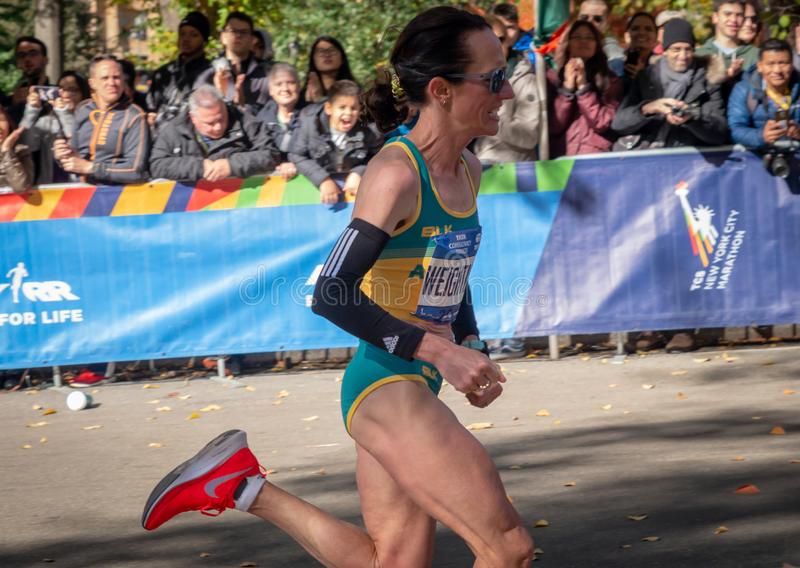 Marathon annuel de New York City photos stock