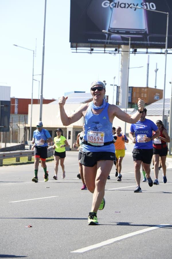 Marathon Buenos Aires stock photography