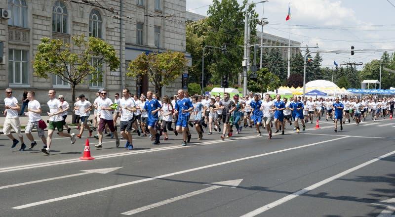 Marathon chisinau images stock
