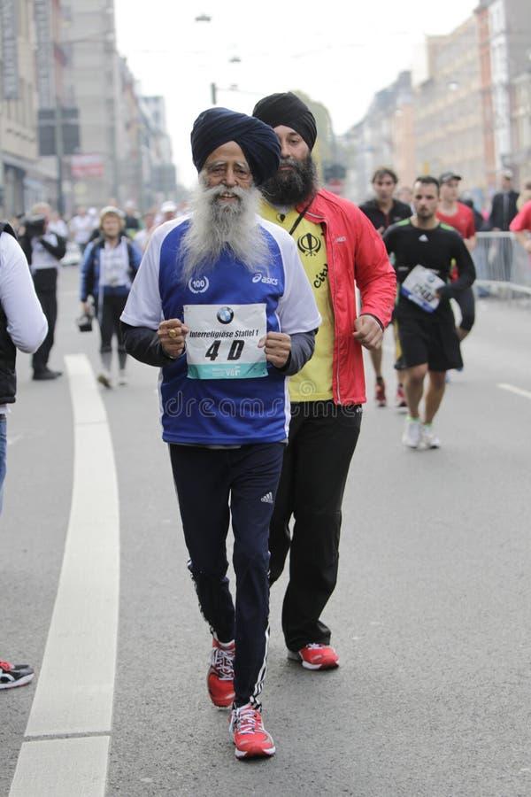 Marathon de Francfort image libre de droits