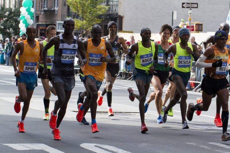 Marathon 2014 de New York City photos stock