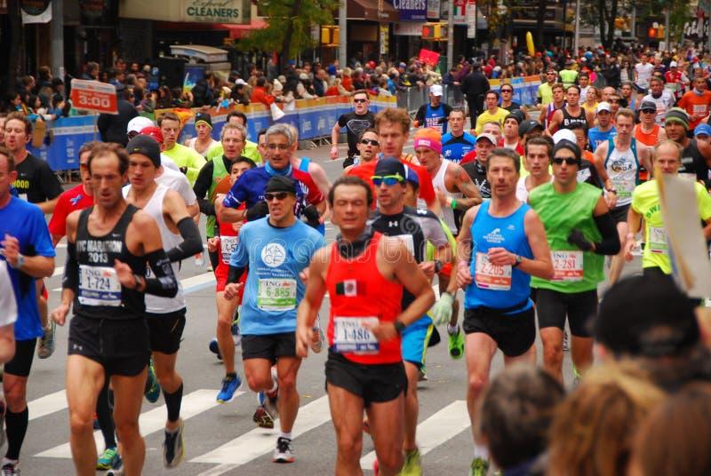 Marathon 2013 de NYC images libres de droits