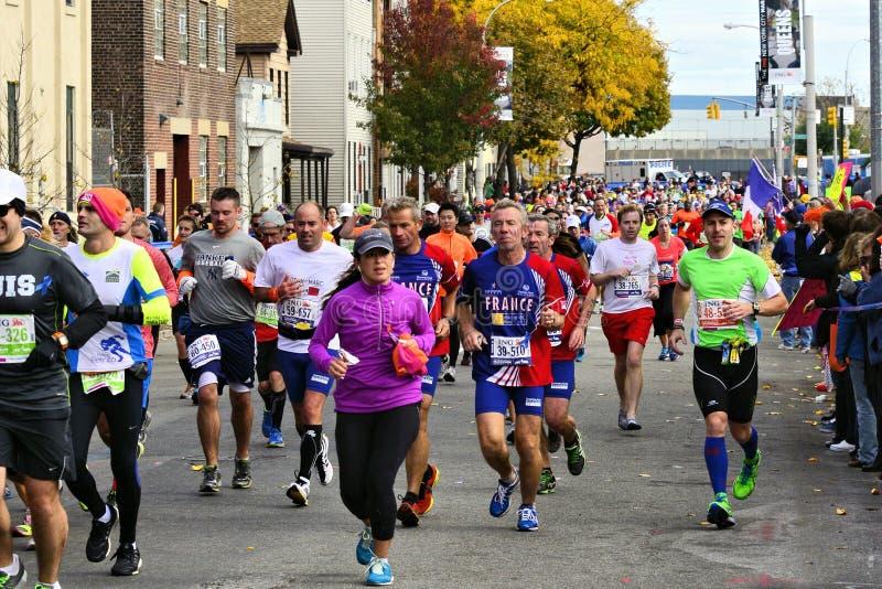 Marathon de 2013 NYC photos stock