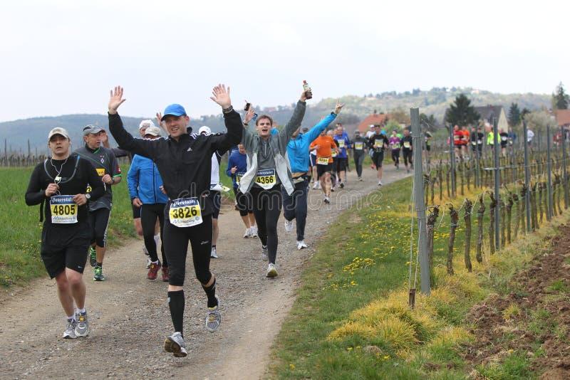 Marathon Deutsche Weinstrasse stock image