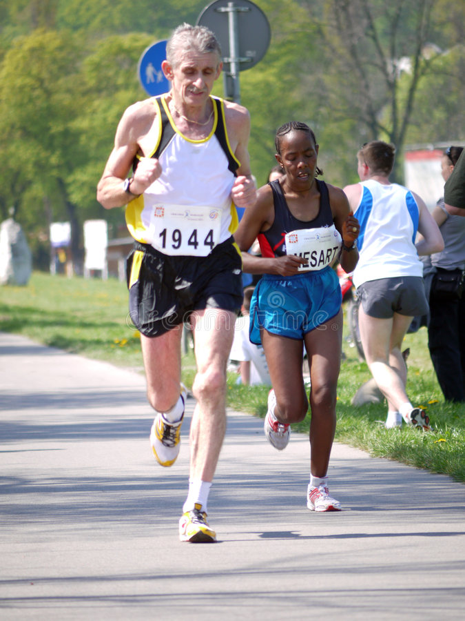 Download Marathon Racers Editorial Stock Image - Image: 9133114