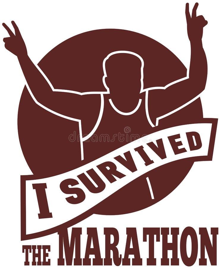 Marathon Runner Race Victory Run Stock Photography