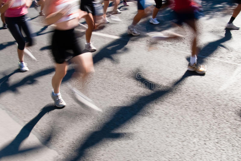 Download Marathon runners stock image. Image of competition, endurance - 13092885