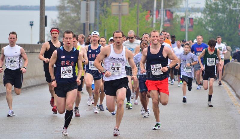 Fitness: Runners stock image