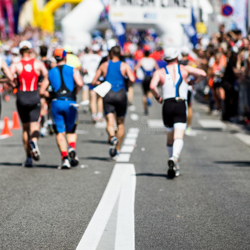 Download Marathon runners editorial stock photo. Image of energy - 31875493