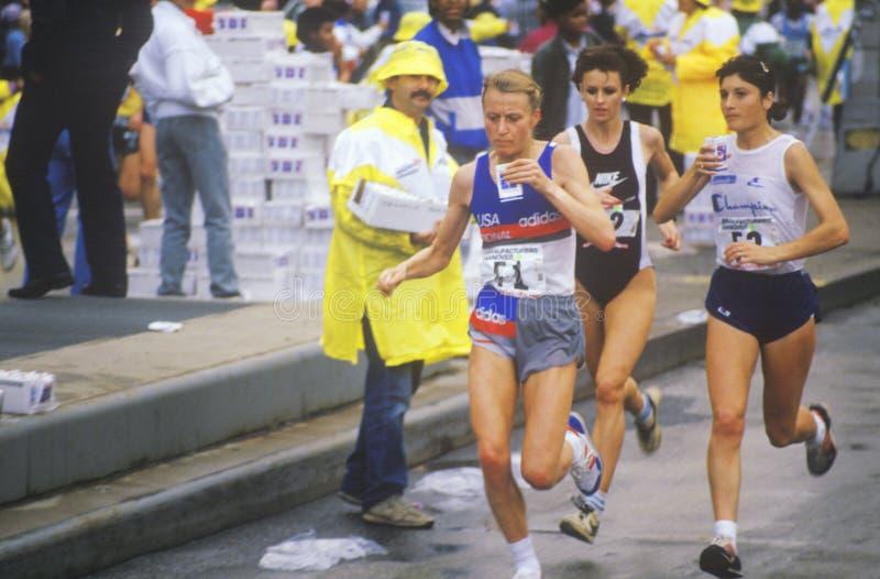 Marathon Winner Grete Waitz Editorial Photo