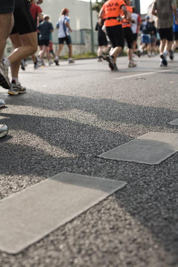 marathon2008 arkivfoton