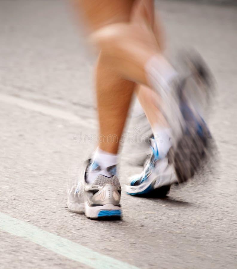 Marathonabbildung lizenzfreies stockfoto