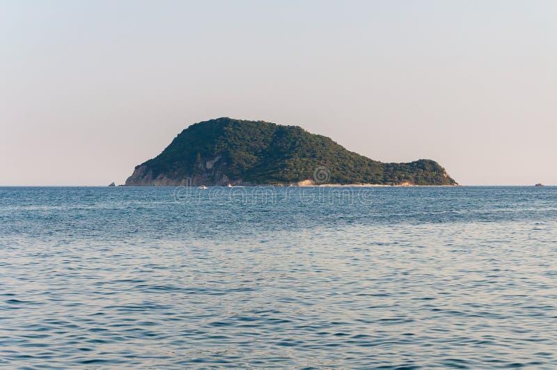 Marathonisi turtle island, Zakynthos, Greece royalty free stock image