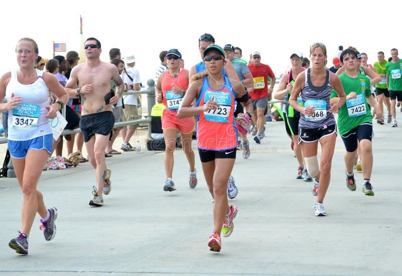 Maraton 2012 arkivbild