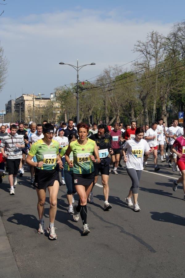 Maratona foto de stock