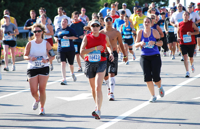 Maratona 2 immagini stock