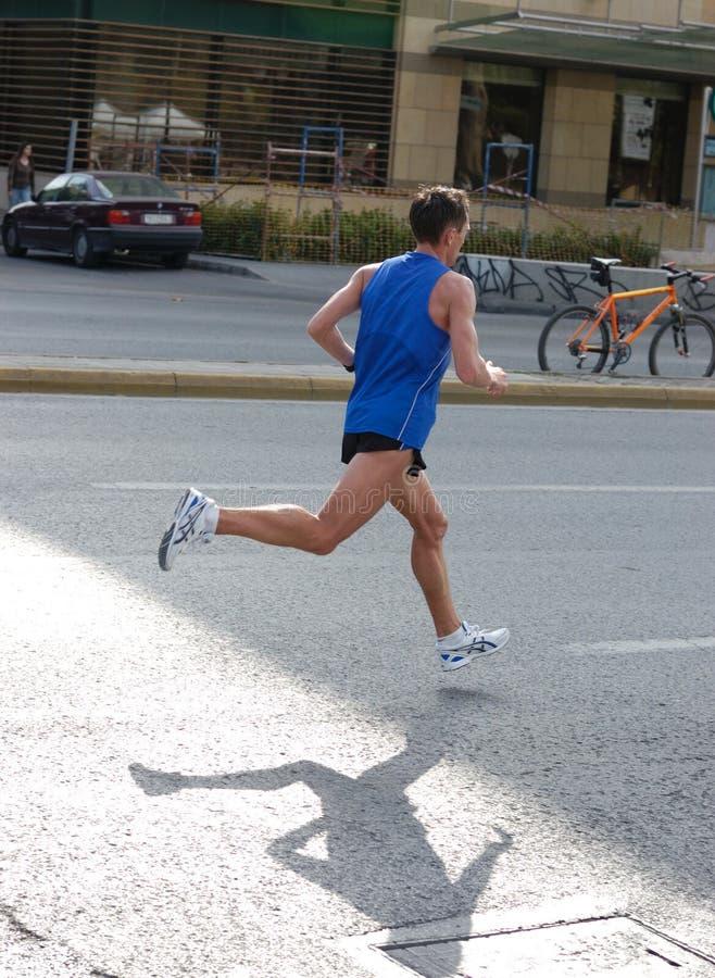 Maratona 2008 della Grecia immagine stock