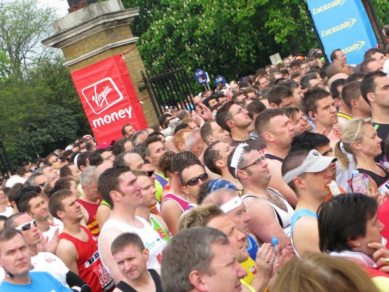 Maratona 2011 di Londra fotografia stock