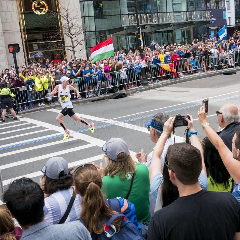 Maratona 2017 de Boston imagens de stock royalty free