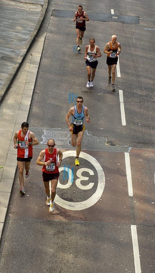 Maratona De Londres Foto de Stock Editorial